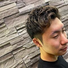 メンズスタイル モード メンズパーマ メンズ ヘアスタイルや髪型の写真・画像