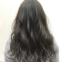 暗髪 透明感 ロング 黒髪 ヘアスタイルや髪型の写真・画像