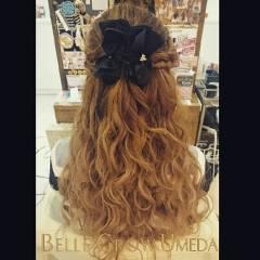 ヘアアレンジ 愛され 編み込み モテ髪 ヘアスタイルや髪型の写真・画像