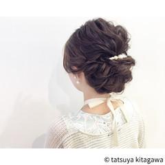 ゆるふわ 女子会 上品 エレガント ヘアスタイルや髪型の写真・画像