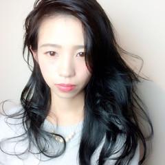 艶髪 コンサバ 黒髪 美シルエット ヘアスタイルや髪型の写真・画像
