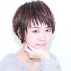 前髪あり 外国人風 フェミニン ハイライト ヘアスタイルや髪型の写真・画像