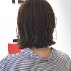 ハイライト アッシュ 透明感 ナチュラル ヘアスタイルや髪型の写真・画像