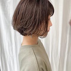 ショートボブ ミニボブ 外ハネボブ まとまるボブ ヘアスタイルや髪型の写真・画像