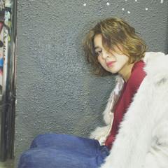 大人かわいい ストリート うざバング ストレート ヘアスタイルや髪型の写真・画像