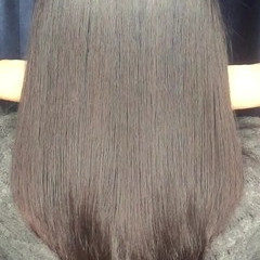 ストレート コンサバ パーマ 大人かわいい ヘアスタイルや髪型の写真・画像