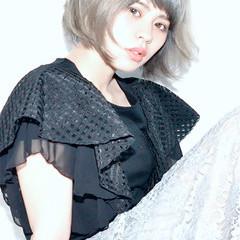 おフェロ ナチュラル グレージュ 透明感 ヘアスタイルや髪型の写真・画像