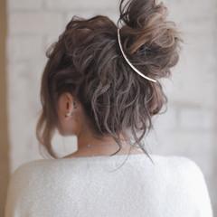 簡単ヘアアレンジ 結婚式 ヘアアレンジ ショート ヘアスタイルや髪型の写真・画像