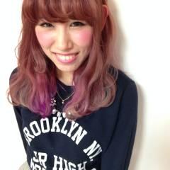 ハイトーン グラデーションカラー ブリーチ ヘアスタイルや髪型の写真・画像