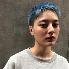 ベリーショート ショートヘア ショート 刈り上げショート ヘアスタイルや髪型の写真・画像