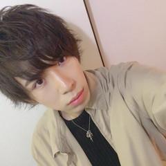 黒髪 ショート ヘアアレンジ メンズ ヘアスタイルや髪型の写真・画像