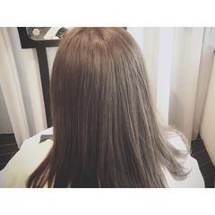 外国人風 ブルージュ 透明感 おフェロ ヘアスタイルや髪型の写真・画像
