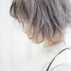 ショートボブ ナチュラル ショートヘア ボブ ヘアスタイルや髪型の写真・画像