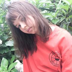 ハイライト 外国人風 アッシュ ピュア ヘアスタイルや髪型の写真・画像