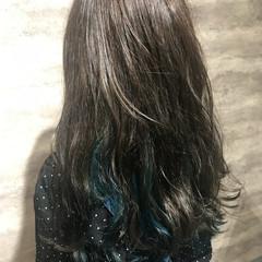 ハイライト フェミニン ロング イルミナカラー ヘアスタイルや髪型の写真・画像