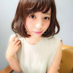 ショート フェミニン モテ髪 コンサバ ヘアスタイルや髪型の写真・画像