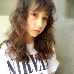 ストリート グラデーションカラー 外国人風 ブラウン ヘアスタイルや髪型の写真・画像