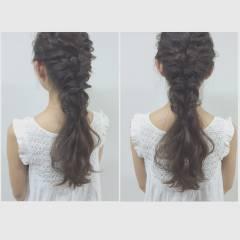 ミディアム 大人かわいい フェミニン ヘアアレンジ ヘアスタイルや髪型の写真・画像