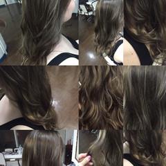 ガーリー グラデーションカラー 外国人風 ブラウン ヘアスタイルや髪型の写真・画像