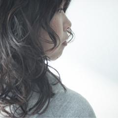 外国人風 ナチュラル パーマ 簡単 ヘアスタイルや髪型の写真・画像
