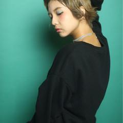 マッシュ オン眉 ガーリー 冬 ヘアスタイルや髪型の写真・画像