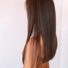 髪質改善トリートメント ナチュラル 髪質改善 ロング ヘアスタイルや髪型の写真・画像