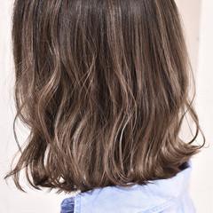 バレイヤージュ ガーリー グラデーションカラー 外国人風カラー ヘアスタイルや髪型の写真・画像