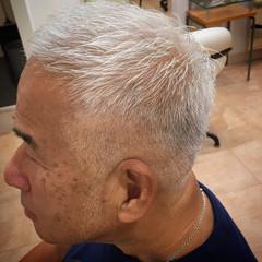 ショート メンズカット ツーブロック ナチュラル ヘアスタイルや髪型の写真・画像