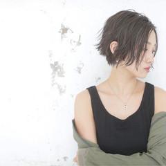 アンニュイ 色気 モード ウェットヘア ヘアスタイルや髪型の写真・画像