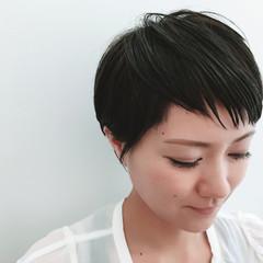 ベリーショート コンサバ 女子会 オフィス ヘアスタイルや髪型の写真・画像