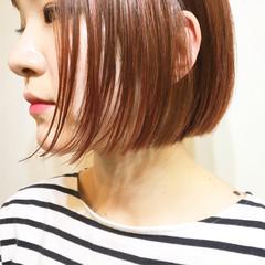 大人女子 切りっぱなし ニュアンス こなれ感 ヘアスタイルや髪型の写真・画像