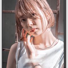 ヌーディベージュ ナチュラル スロウカラーコンテスト ミルクティーベージュ ヘアスタイルや髪型の写真・画像