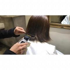 モード ボブ 大人女子 色気 ヘアスタイルや髪型の写真・画像