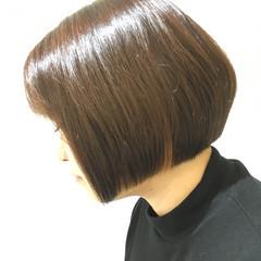 ストレート ボブ ショートボブ モード ヘアスタイルや髪型の写真・画像