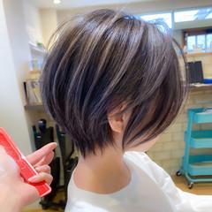 ショートボブ ショート ストリート ショートヘア ヘアスタイルや髪型の写真・画像