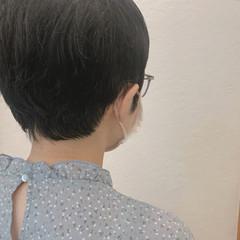 ナチュラル お洒落 くせ毛風 ベリーショート ヘアスタイルや髪型の写真・画像