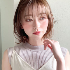 アンニュイほつれヘア デジタルパーマ ボブ ゆるふわパーマ ヘアスタイルや髪型の写真・画像