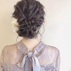 パーティ 成人式 結婚式 上品 ヘアスタイルや髪型の写真・画像