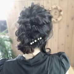 ヘアアレンジ アップスタイル コンサバ ロング ヘアスタイルや髪型の写真・画像