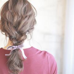 ショート セミロング 簡単ヘアアレンジ 結婚式 ヘアスタイルや髪型の写真・画像