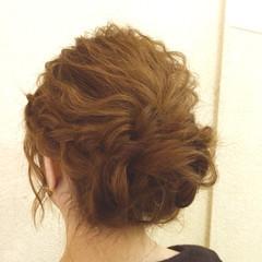 波ウェーブ ナチュラル ヘアアレンジ ゆるふわ ヘアスタイルや髪型の写真・画像