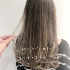 ヘアアレンジ オフィス 成人式 セミロング ヘアスタイルや髪型の写真・画像