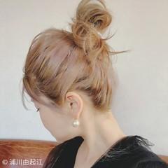 アンニュイほつれヘア ゆるふわ ナチュラル ハイライト ヘアスタイルや髪型の写真・画像