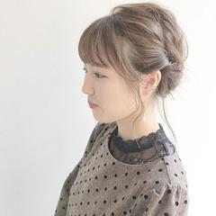 成人式 サロンモデル ヘアアレンジ ガーリー ヘアスタイルや髪型の写真・画像