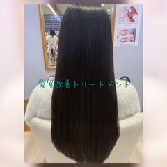 ロング モテ髪 髪質改善トリートメント 髪質改善 ヘアスタイルや髪型の写真・画像