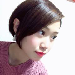 ショート デート エレガント 上品 ヘアスタイルや髪型の写真・画像