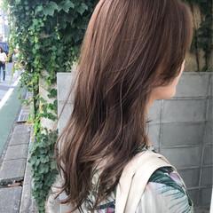 透明感カラー パーマ ナチュラル デート ヘアスタイルや髪型の写真・画像