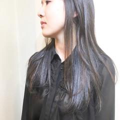 ストリート インナーカラー 透明感 ハイトーン ヘアスタイルや髪型の写真・画像