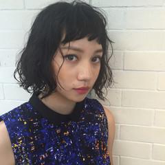パーマ モード 外国人風 色気 ヘアスタイルや髪型の写真・画像