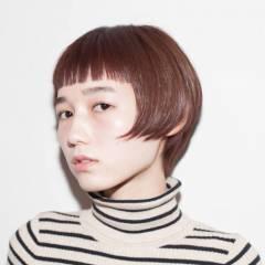 フェミニン モテ髪 愛され ボブ ヘアスタイルや髪型の写真・画像